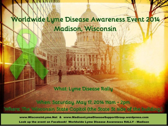 Madison Lyme Rally Poster w websites